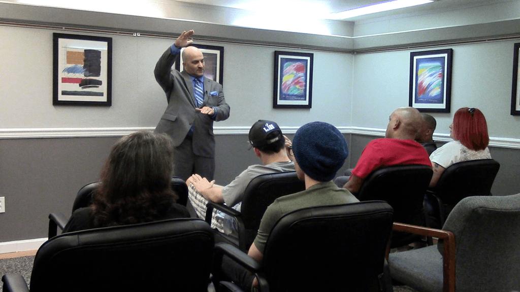 Speak Sober provides speaking and programs to rehabilitation centers.